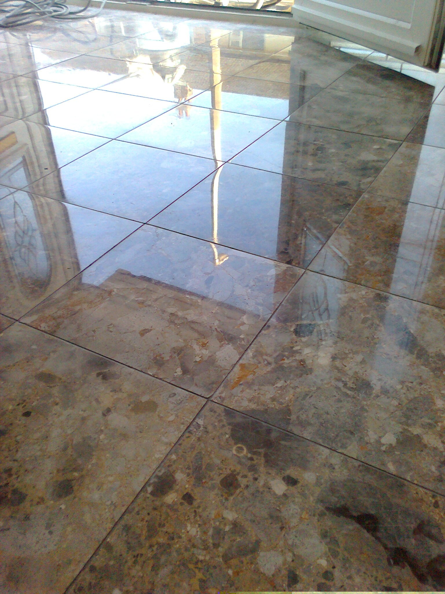 Marble Floor Polishing In Cheshire Floor Care Experts